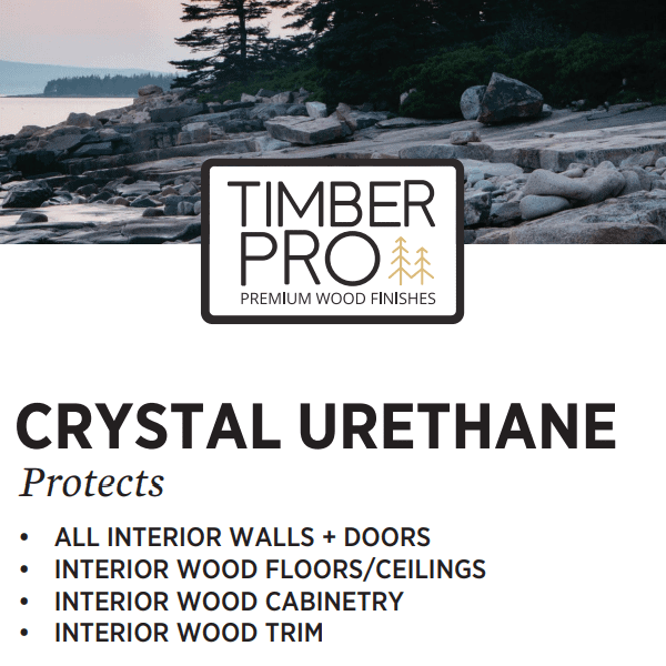 crystal urethane from Timber Pro Stain