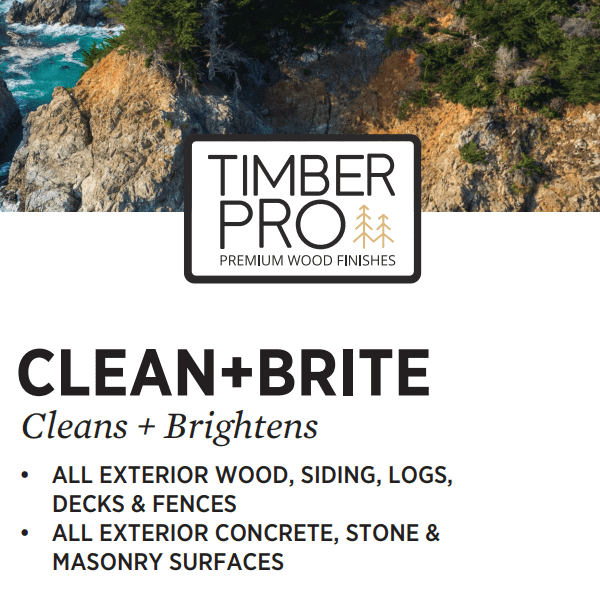 timber pro clean and bright