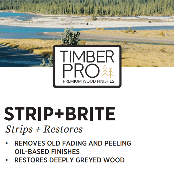 timber pro strip and bright label