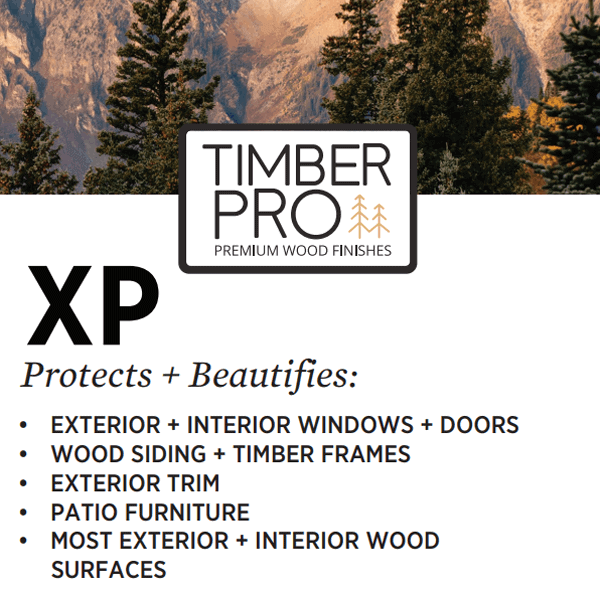 timber pro xp stain finish