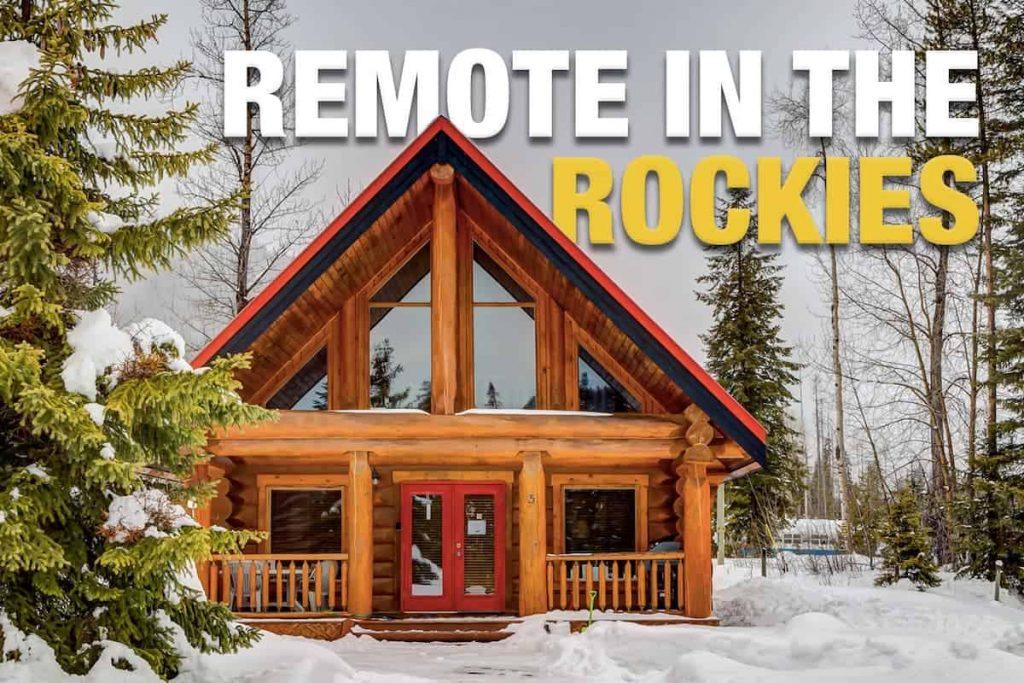 log cabin rental