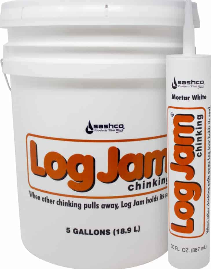 log jam chinking canada