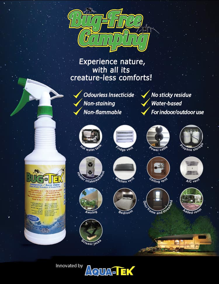 Applications for Bug-tek insecticide