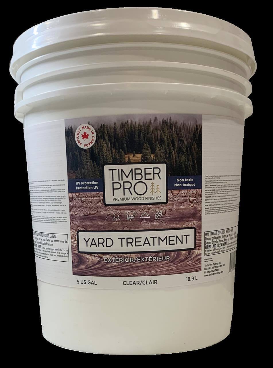 pail of Timber pro's yard treatment