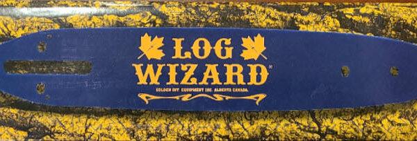 log wizard chainsaw bar